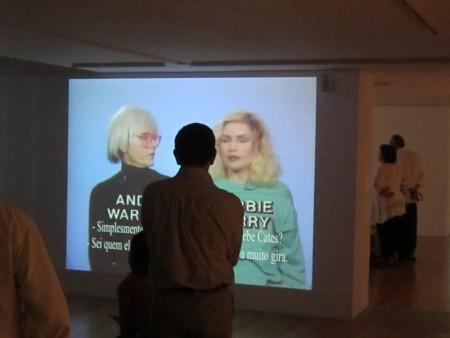 Warhol TV Rio de Janeiro