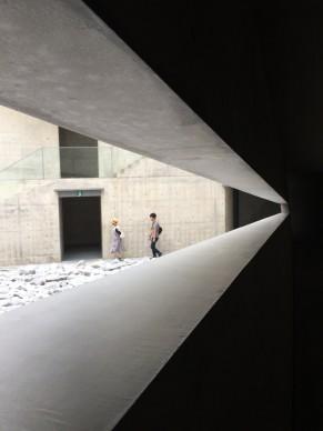 In Tadao Ando Building