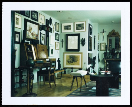 Interior of R Mapplethorpe house