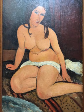 MODIGLIANI retrospective in Villeneuve d'Ascq (North of France): a must see