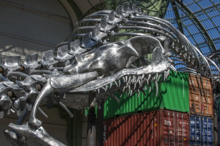 Huang Yong Ping : 980 tonnes of art at the Grand Palais in Paris