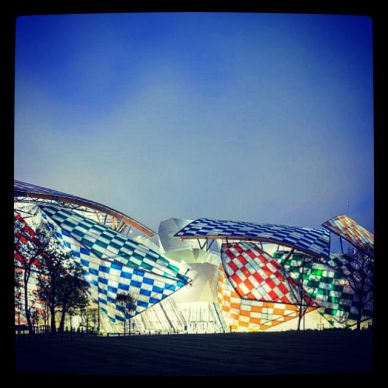 Daniel Buren talks about his gigantic project at the Fondation  Vuitton, about the artmarket and his famous stripes
