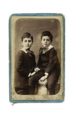 Marcel  Proust and his brother Robert Proust