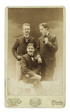 Marcel Proust, Lucien Daudet et Robert de Flers