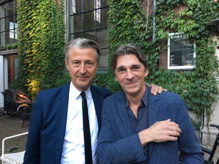 Jérôme Sans & Nicolas Bourriaud in Copenhagen