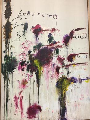 Cy Twombly at the Pompidou: An outstanding retrospective which will not travel after Paris