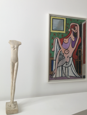 Picasso – Giacometti in Paris before Doha: a battle of the giants