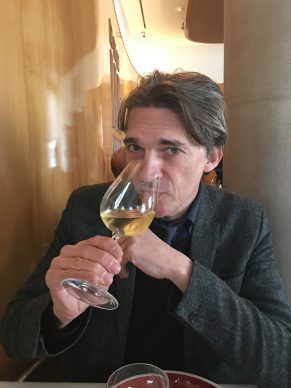 At L'Arpège, three-Michelin-star restaurant with the Relational Art founder Nicolas Bourriaud