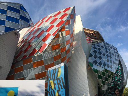 Daniel Buren @ Fondation Louis Vuitton