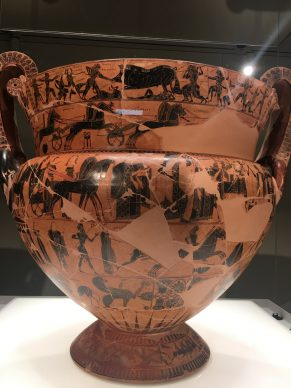 At The Cycladic Art museum