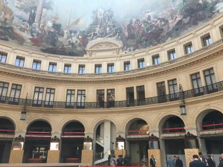 Inside Bourse de Commerce