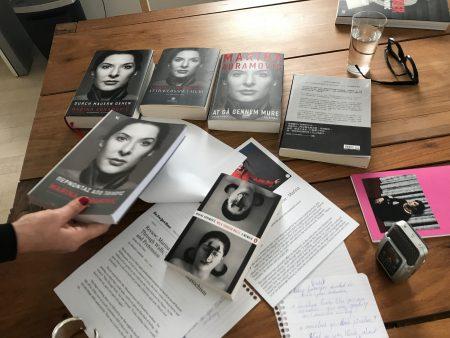 Marina Abramovic' s memoirs