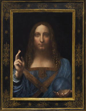 Leonardo da Vinci at Christie's estimated 100 million dollars: The National Gallery said it was aggressively overcleaned