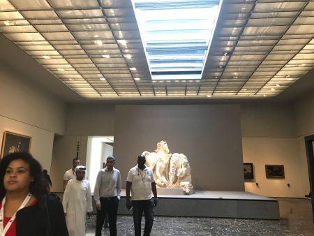 Inside Louvre Abu Dabi