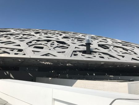 The dome of Louvre Abu Dhabi