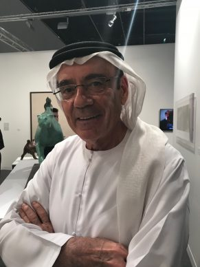 Zaki Nusseibeh, influential character in the project of the Louvre Abu Dhabi