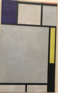 A Mondrian bought at auction during the YSL and Bergé sale
