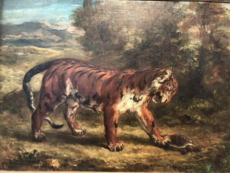 Eigène Delacroix (Rockefeller collection)