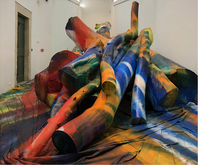 Tatiana Trouvé and Katharina Grosse: Two powerful experiences at the Villa Medici in Rome