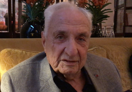 Frank Gehry: Inside the mind of the great architect. 6 answers in 60 seconds and more