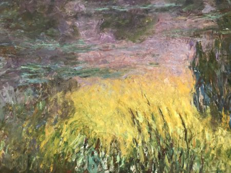 What if Monet was the father of Pollock, Rothko, Mitchell and de Kooning? At the Musée de l'Orangerie in Paris.
