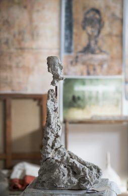 Buste d'homme assis (Lotar III) 1965-1966