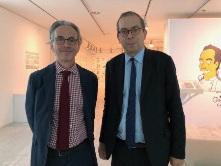 The directors of two Picasso museums : Emmanuel Guigon, Laurent Lebon