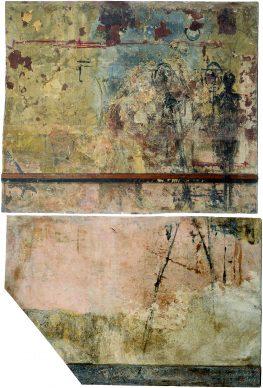 Wall of Alberto Giacometti studio