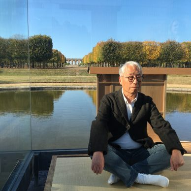 Hiroshi Sugimoto at Versailles: in his  sublime glass tea house the star photographer speaks of zen and ghosts