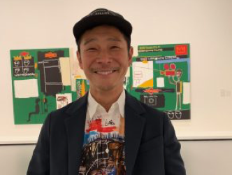 Basquiat at the Vuitton Foundation (2): When Yusaku Maezawa, the buyer of the $110.5m Basquiat, discusses his collection and his dreams of flying to the moon