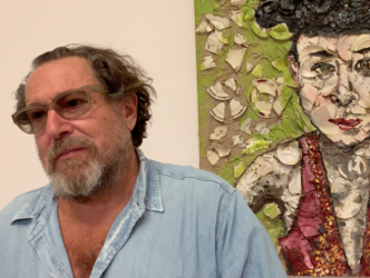 Julian Schnabel: To mark the release of his film on Van Gogh and his exhibition at the Musée d'Orsay the painter shows his true colours