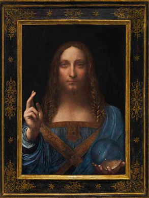 The 450-million-dollar Leonardo is nowhere to be found