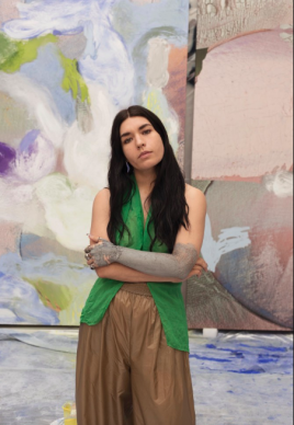 Donna Huanca: 5 answers in 1 minute from the spectacular young  artist who paints on bodies and on canvas