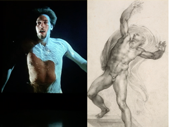 Bill Viola / Michelangelo at the Royal Academy in London: In life and in death. Sublime