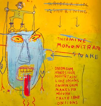 Jean Michel Basquiat (detail)