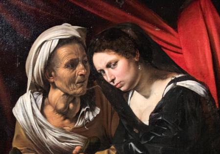 Caravaggio? (detail)