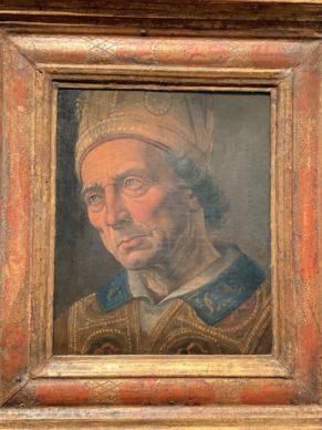 Leonardo ? in the workshop of Verocchio