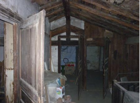 The attic where the Caravaggio? was found