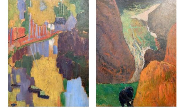 Paris: Gauguin dictated the standards for a good painting. Sérusier, Filiger, Bonnard and the others followed.