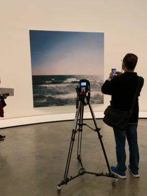The Gerhard Richter room at the Guggenheim Bilbao