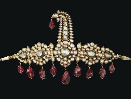The Nizams of Hyderabad Sarpech Diamond and Spinel Turban Ornament