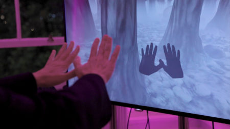 Acute Art VR hands