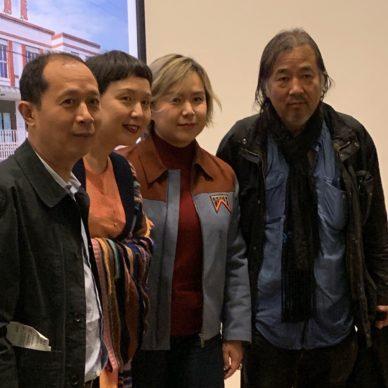 Hou Hanru, Cao Dan,Cao fei, Yan Pei Ming