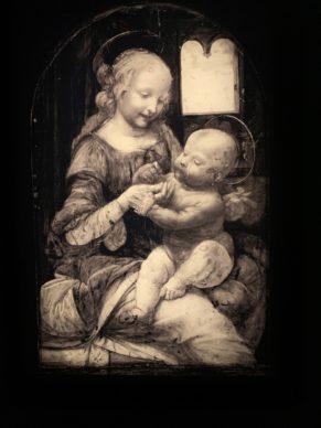 Leonardo da Vinci (infrared reflectography)