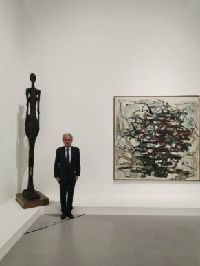 Laurent Dassault, Giacometti, Joan Mitchell