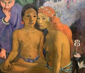 The older Gauguin may have liked young women but his painting is very important. At the National Gallery in London