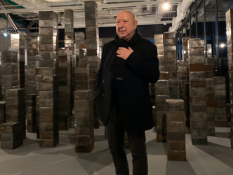 CHRISTIAN BOLTANSKI celebrates our ghosts at the Centre Pompidou. A video interview