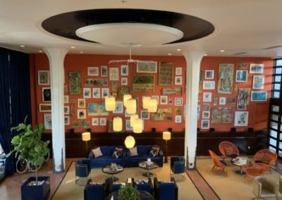 Albion hotel lobby