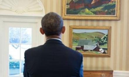 Edward Hopper: Explore the American painter's landscapes, like Barack Obama