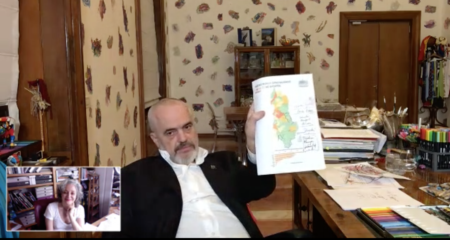 """The world afterwards (3) Albanian prime minister and artist Edi Rama: """"It's  a major failure. The world is unable to be together"""" - Judith Benhamou-Huet  Reports"""